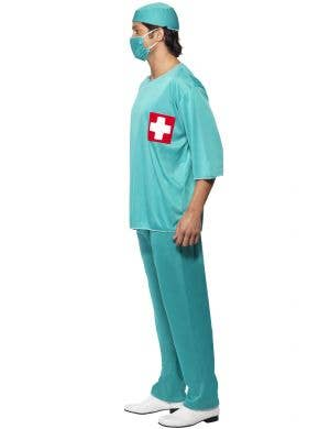 Accident & Emergency Surgeon Scrubs Men's Costume