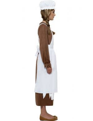 Victorian Apron and Mop Cap Kids Costume Kit