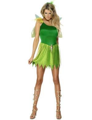 Woodland Green Fairy Women's Sexy Costume