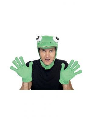 Fairytale Green Frog Costume Accessory Kit
