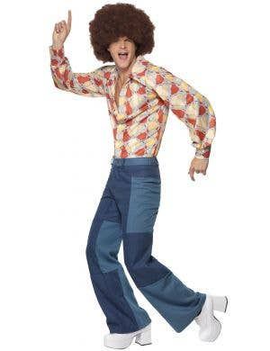 1970's Retro Days Men's Fancy Dress Costume