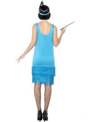 Flirty Flapper Women's 1920's Costume - Blue