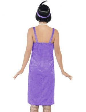 Jazz Flapper Women's 1920's Costume - Purple