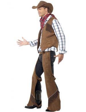 Wild West Fringe Cowboy Men's Costume