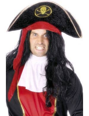 Nautical Pirate Captain Costume Accessory Hat
