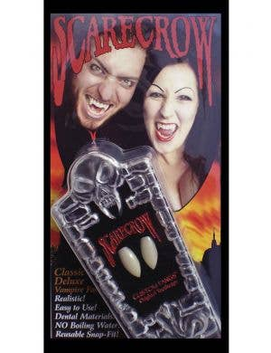 Scarecrow Classic Deluxe Large Vampire Fangs