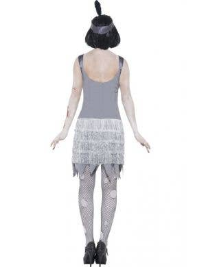 Bloody Zombie Flapper Women's Halloween Costume