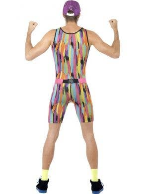 Mr Energizer Men's 80's Costume