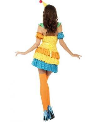 Colourful Clown Cutie Women's Costume - Plus Size