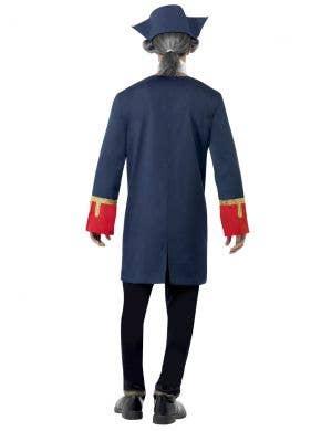 Colonial Navy Commander Men's Fancy Dress Costume