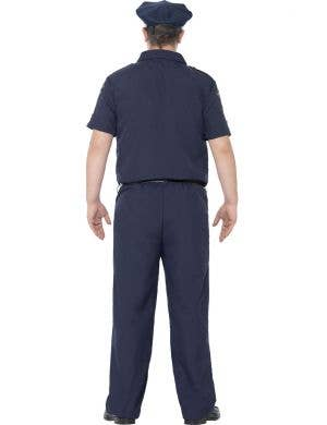 NYC Police Officer Men's Plus Size Costume