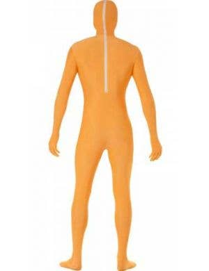 Pumpkin Second Skin Men's Halloween Costume