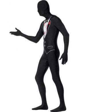 Shot Gangster Second Skin Men's Costume