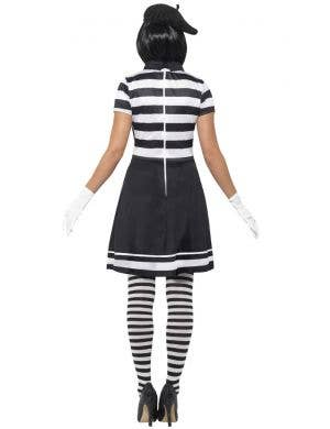 Lady Mime Women's Halloween Fancy Dress Costume