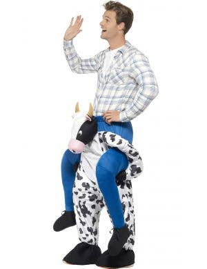 Novelty Cow Adult's Piggyback Costume