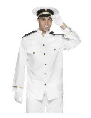 Flight Captain Men's Fancy Dress Costume