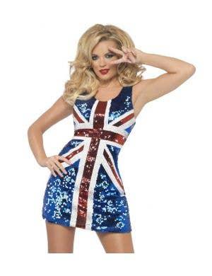 Rule Britannia Sexy Women's Costume