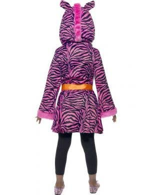 Sassy Zebra Girls Fancy Dress Costume