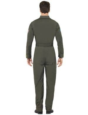 Top Gun Deluxe Men's Aviator Suit Costume