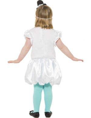 Puffball Snowgirl Children's Christmas Dress Up Costume