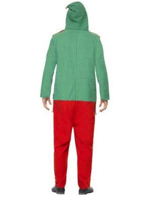 Elf Adult's Christmas Onesie Costume