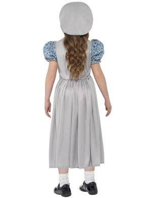 Victorian School Girl Kid's Fancy Dress Costume