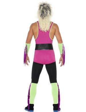 Retro Wrestler Men's 80's Costume