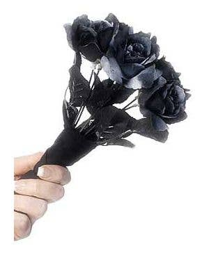 Bride's Corpse Gothic Black Bouquet