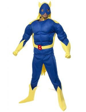 Bananaman Muscle Chest Men's Superhero Costume