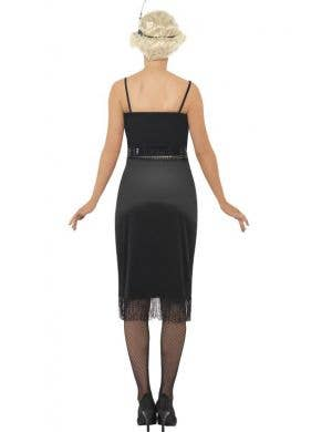 1920's Women's Black Flapper Great Gatsby Costume