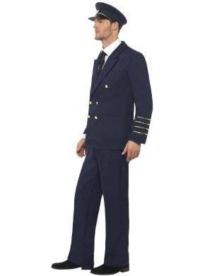High Flyer Pilot Captain Men's Costume