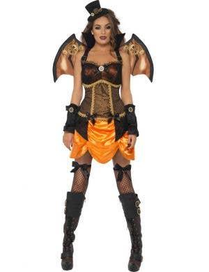 Steampunk Victorian Vampire Women's Halloween Costume