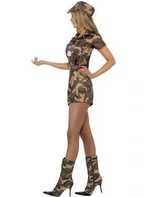 Camouflage Army Girl Sexy Women's Costume