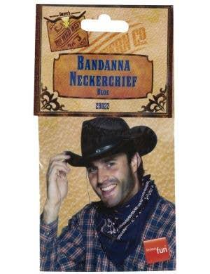 db9a249fd06a7 ... Cowboy Blue Bandanna Western Costume Accessory