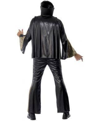 Elvis Lives Men's Black Costume