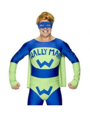 Wally Man Adult's Superhero Costume