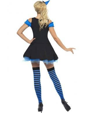 Wicked Blue Witch Sexy Women's Halloween Costume