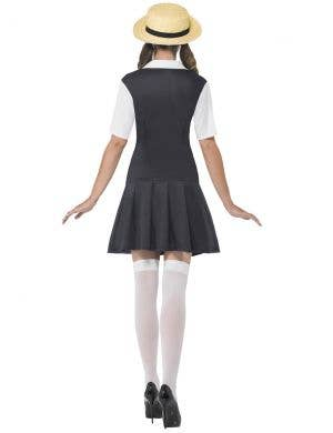 Preppy School Girl Women's Fancy Dress Costume