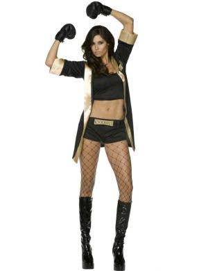 Knockout Women's Sexy Boxer Costume