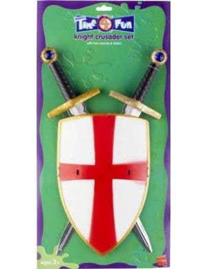 Knight Crusader Kids Sword and Shield Set