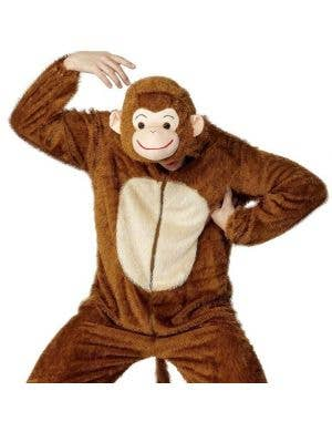Monkey Adult Onesie Costume