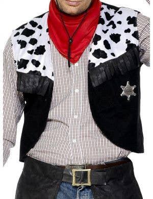 Outback Cowboy Men's Fancy Dress Costume
