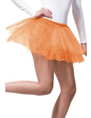 Layered Orange Costume Tutu