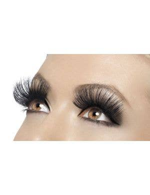 Extra Long Black False Costume Eyelashes