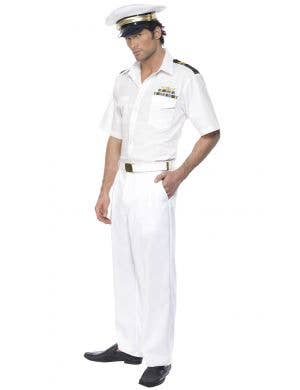 Top Gun Captain Men's Fancy Dress Costume