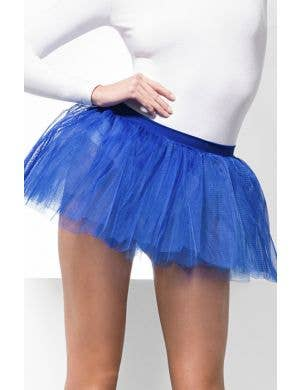 Layered Blue Costume Tutu