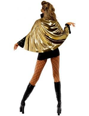 Viva Las Vegas Women's Black Elvis Costume