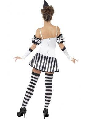 Clown Mime Sexy Women's Costume