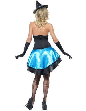 Blue Couture Witch Sexy Women's Halloween Costume