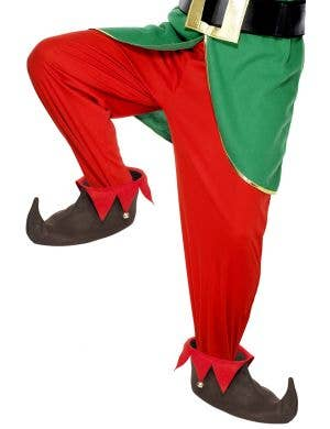 Novelty Brown Christmas Elf Costume Shoes
